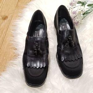 STUART WEITZMAN black loafers